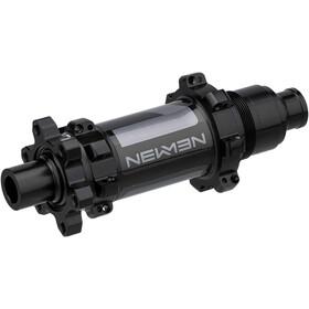 NEWMEN MTB Mozzo posteriore 12x142mm 6 bulloni Shimano MicroSpline Gen2, black anodised/grey
